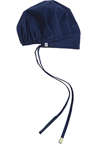 Code Happy Unisex Bouffant Scrub Hat Navy (36500A-NVCH)