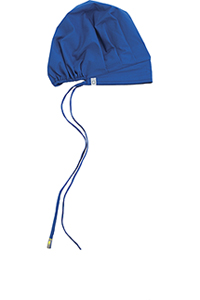 Code Happy Unisex Bouffant Scrub Hat Royal (36500A-RYCH)