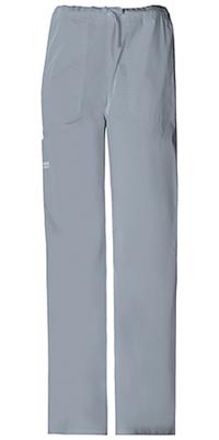 Cherokee Workwear Unisex Drawstring Cargo Pant Grey (4043-GRYW)
