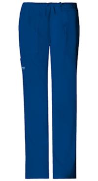 Cherokee Workwear Mid Rise Drawstring Cargo Pant Galaxy Blue (4044-GABW)