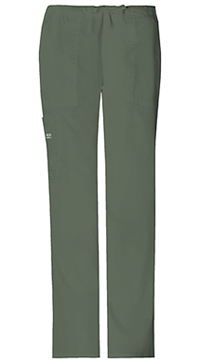 Mid Rise Drawstring Cargo Pant Olive (4044-OLVW)