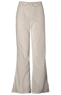 Natural Rise Flare Leg Drawstring Pant