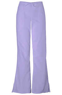 Cherokee Workwear Natural Rise Flare Leg Drawstring Pant Orchid (4101P-ORCW)
