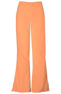 Cherokee Workwear Natural Rise Flare Leg Drawstring Pant Orange Sorbet (4101P-ORSW)