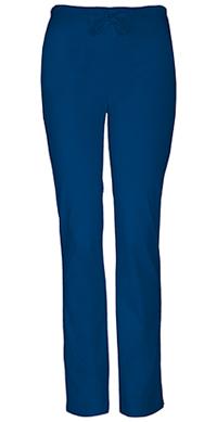 Cherokee Workwear Mid Rise Slim Drawstring Pant Navy (4203-NAVW)