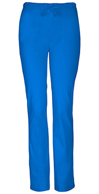 Cherokee Workwear Mid Rise Slim Drawstring Pant Royal (4203-ROYW)