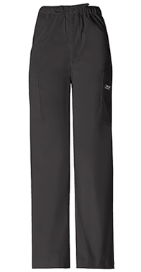 Cherokee Workwear Men's Fly Front Cargo Pant Black (4243-BLKW)