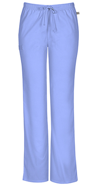 Mid Rise Moderate Flare Drawstring Pant (44101AT-CIEW)