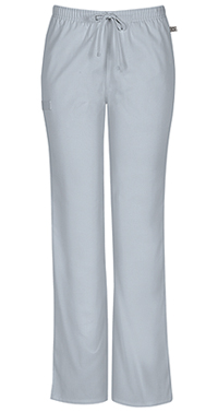 Mid Rise Moderate Flare Drawstring Pant (44101AT-GRYW)