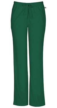 Mid Rise Moderate Flare Drawstring Pant