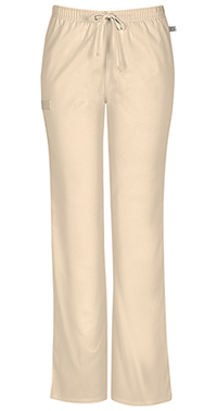 Mid Rise Moderate Flare Drawstring Pant (44101AT-KAKW)