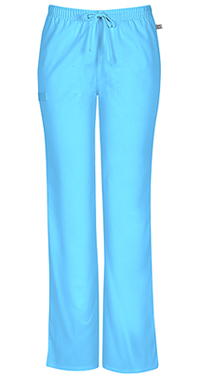 Mid Rise Moderate Flare Drawstring Pant (44101AT-TRQW)