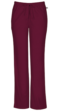 Mid Rise Moderate Flare Drawstring Pant (44101AT-WINW)