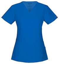 Cherokee Workwear V-Neck Top Royal (44700A-ROYW)