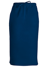 Cherokee Workwear 30 Drawstring Skirt Navy (4509-NAVW)