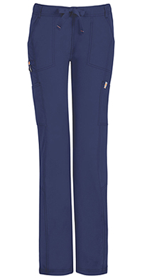 Low Rise Straight Leg Drawstring Pant (46000AT-NVCH)