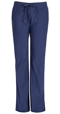 Mid Rise Moderate Flare Drawstring Pant (46002ABP-NVCH)