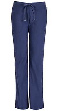 Mid Rise Moderate Flare Drawstring Pant (46002ABT-NVCH)