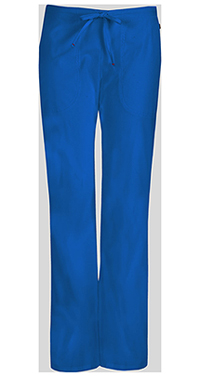 Code Happy Mid Rise Moderate Flare Drawstring Pant Royal (46002AB-RYCH)