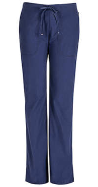 Mid Rise Moderate Flare Drawstring Pant (46002AP-NVCH)