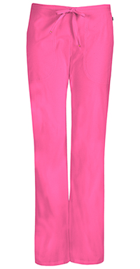 Mid Rise Moderate Flare Drawstring Pant (46002AP-SHCH)
