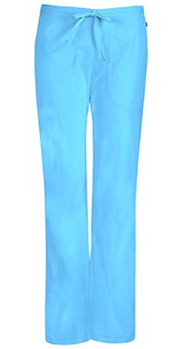 Mid Rise Moderate Flare Drawstring Pant (46002AT-TQCH)