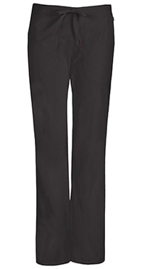 Code Happy Mid Rise Moderate Flare Drawstring Pant Black (46002A-BXCH)
