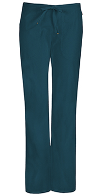Code Happy Mid Rise Moderate Flare Drawstring Pant Caribbean Blue (46002A-CACH)