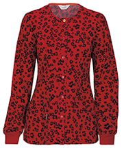 Code Happy Snap Front Warm-up Jacket Little Leopard (46303A-ATTL)