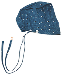 Code Happy Unisex Bouffant Scrub Hat You've Dot This Caribbean (46500CA-YOCA)