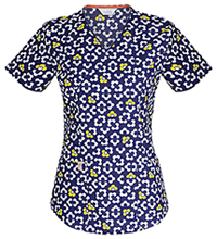 Code Happy Mock Wrap Top You Mod Me Smile (46616CA-YOSM)