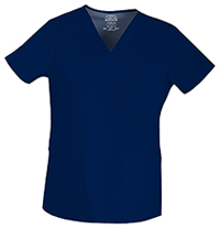 Cherokee Workwear V-Neck Top Navy (4757-NAVV)