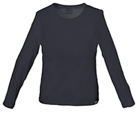 Cherokee Workwear Long Sleeve Underscrub Knit Tee Pewter (4818-PWTW)