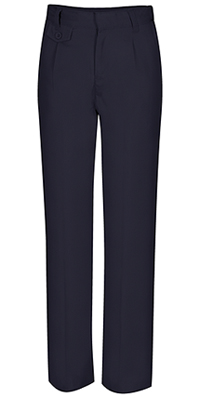 Juniors Pleat Front Pant Dark Navy (50114-DNVY)