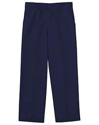 Classroom Uniforms Boys Adj. Waist Flat Front Pant Dark Navy (50362-DNVY)