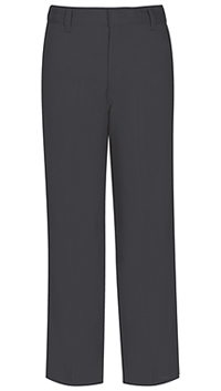 Classroom Uniforms Boys Husky Flat Front Pant Charcoal Grey (50363-CGRY)