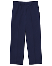 Classroom Uniforms Men's Tall Flat Front Pant 34 Inseam Dark Navy (50364T-DNVY)