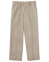 Classroom Uniforms Men's Tall Flat Front Pant 34 Inseam Khaki (50364T-KAK)