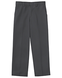 Classroom Uniforms Men's Tall Flat Front Pant 35 Inseam Slate Gray (50364T-SLATE)