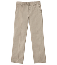 Classroom Uniforms Boys Husky Stretch Narrow Leg Pant Khaki (50483A-KAK)