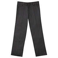Classroom Uniforms Men's StretchTri-Blend Flannel Pant Dark Grey (50524-DGRY)