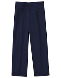 Boys Husky Pleat Front Pant