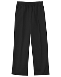 Classroom Uniforms Preschool Unisex Pull On Dbl Knee Pant Black (51060-BLK)