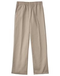 ed979f81b1 Classroom Uniforms Unisex Husky Pull On Pant Khaki 51063-KAK