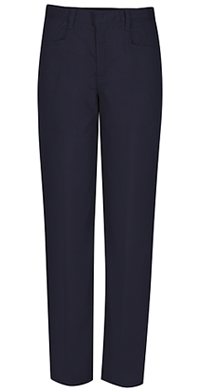 Classroom Uniforms Girls Low Rise Adjustable Waist Pant Dark Navy (51071A-DNVY)