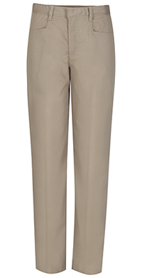 Classroom Uniforms Girls Low Rise Adjustable Waist Pant Khaki (51071A-KAK)