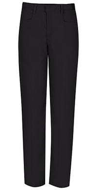 Classroom Uniforms Girls Adj. Waist Low Rise Pant Black (51072-BLK)