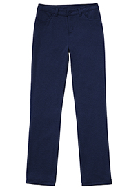 Classroom Uniforms Juniors Ponte Tapered Leg Pant Dark Navy (51144Z-DNVY)