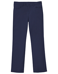 Classroom Uniforms Girls Adj. Stretch Matchstick Leg Pant Dark Navy (51282-DNVY)