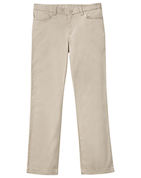 Classroom Uniforms Girls Adj. Stretch Matchstick Leg Pant Khaki (51282-KAK)